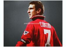 MANCHESTER UNITED FC LEGEND KING ERIC CANTONA EXCLUSIVE A4 PRINT