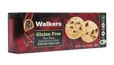 Walkers Gluten Free Choc Chip Shortbread - 140g (Pack of 6)