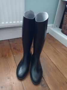 Childrens Long Rubber Riding Boots  - size 2