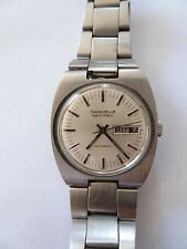 Bulova Vintage Watch Caravelle Automatic  Stainless good Works Set-o-matic (Z74)