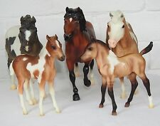 Breyer traditional pony set Misty Storm Donner mare foal toy horse lot bundle