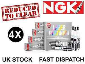 NGK LFR4AP-11 5613 LASER PLATINUM SPARK PLUG X4 *FREE P&P* REDUCED TO CLEAR