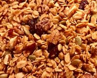 Handmade Granola - Maple Crunch Granola Made With Pure Vermont Maple Syrup