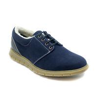 Chaussure végane et écologique pour homme, chaude et moelleuse, à semelle plate