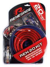 Renegade 20mm² Verstärker Anschlusskit Kabelset Anschlussset 20qmm