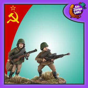 SOVIET INFANTRY WITH SMG - BAD SQUIDDO GAMES - FZ005