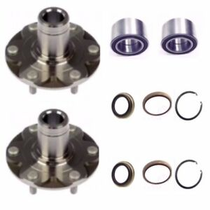 FRONT WHEEL HUB & BEARING KITS FOR TOYOTA 4RUNNER-SEQUOIA-TUNDRA 4WD ONLY PAIR