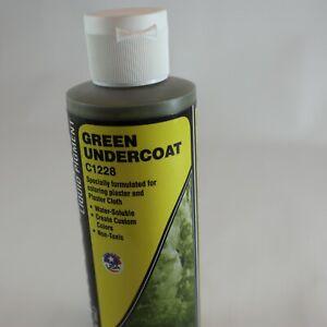EARTH COLORS Green Undercoat C1228 Liquid Pigment Terrain Paint 236ml Woodland