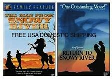 THE MAN FROM AND RETURN TO SNOWY RIVER - NEW 2 DVD SET