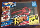NEW Hot Wheels Terrain Twister (red) Radio Control R/C + Charger + Batteries
