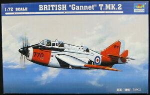1/72 Trumpeter Models FAIREY GANNET T Mk.2 Anti-Submarine Aircraft *MINT*