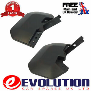 A Set Of OEM Front Mud Flaps Fits Ford Transit MK8 2014 On 1820757 1820756