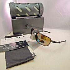 OAKLEY BADMAN POLARIZED Sunglasses Pewter Tungsten Iridium OO6020-02 BRAND NEW