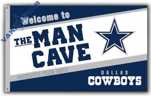 Dallas Cowboys Men Cave Football team Memorable flag 90x150cm 3x5ft best banner