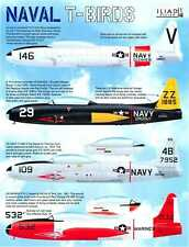 Iliad Decals 1/48 NAVAL T-BIRDS LOCKHEED TV-2 & T-33