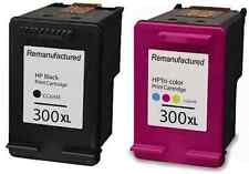 HP 300XL Black and Colour Ink Cartridges For HP Deskjet F2480