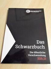 BdSt. / Das Schwarzbuch: Die öffentliche Verschwendung 2018 / 2019
