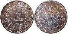 J 16   1/2 Mark Pfennig  1914 A in STG   070