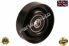 Fan Belt Tensioner Pulley V Ribbed Idler fits Hyundai Coupe 1.6 98-09