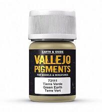 Vallejo Pigment Green Earth 30ml - 73111