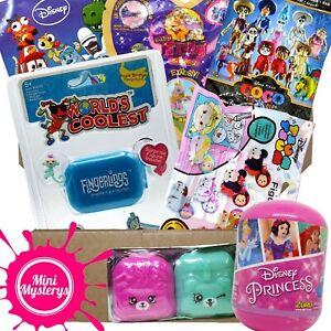 GIRLS TOYS GIFT BUNDLE inc Disney, Fingerlings, Shopkins, Bullyland Blind Bags