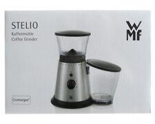 WMF Stelio Kaffeemühle Cromargan Scheibenmahlwerk 10 Mahlgrade Edelstahl NEU