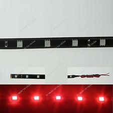Red 120CM 4Ft 48' 48 5050 LED Flexible Strip Light Waterproof DRL 12V M032