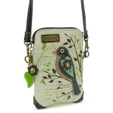 Chala Cell Phone Crossbody Bag Bird Safari Sand Convertible Strap Brand New
