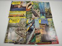 Vintage 1970 Railroad Model Craftsman Magazine Lot Of 10