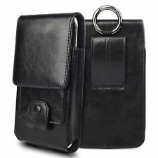 Holster Real Leather Belt Clip Phone Pouch Case Cover for iPhone 7 6 6S