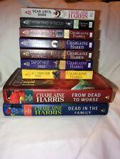 Charlaine Harris Sookie Stackhouse Book Series Lot True Blood Vampires Romance
