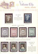 VATICAN CITY collection 1960's-80's MINT NH, pages & glassines, Scott $905.00