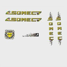 Somec Bicycle Decals, Transfers, Stickers - Yellow n.120