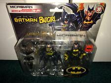 "Batman Batgirl 4"" MA-SP01 Mircoman Micro Action Series DC Takara Tomy MISP USA"