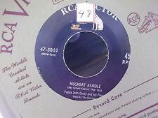 Papa John Gordy On Rca Records Muskrat Ramble / Fortune In Dreams W/ Peper Sleev