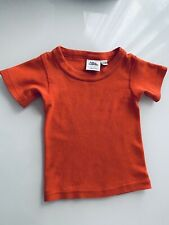 Cotton Caboodle Orange Red T-shirt 6/12months