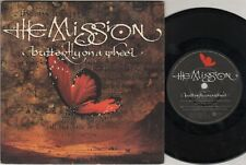"""MISSION Butterfly On A Wheel  7"""" Ps, B/W The Grip Of Disease, Myth 8"""