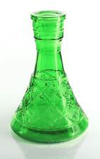 NEW SALE Green LARGE PYRAMID VASE Hookah Shisha Narguile for Water Smoking Pipe