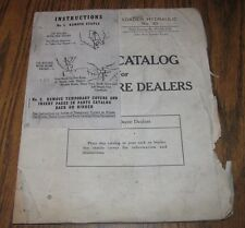 1951 John Deere No 30 Hydraulic Loader Parts Catalog Manual Pc-175 for M Tractor