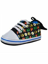 Justice League Caped Infant Baby Hi-Top Sneaker Shoes (3-6 months)