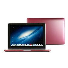 Metallic Maroon Red Metallic Painting Hard Case for MacBook Pro 13 Retina