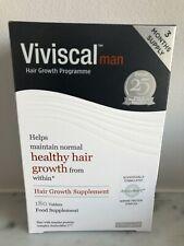 Viviscal Man Hair Growth Programme 180 tablets (3 months) RRP £120 exp 01/2021