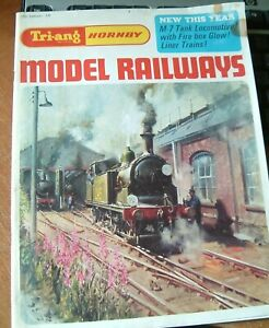 TRIANG-HORNBY MODEL RAILWAYS 13th EDITION CATALOGUE & SEPERATE 1967 PRICE LIST-