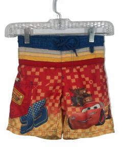 Disney Cars Boys Cago Swim Trunks - Size 3  Pockets