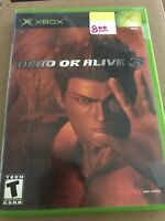 Dead or Alive 3 (Original Microsoft Xbox, 2001) Dead or Alive III Video Game