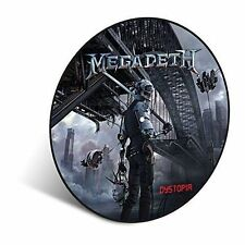 Megadeath Dystopia LP Picture Disc Vinyl 33rpm