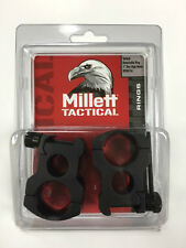 "Millett Tactical Scope Rings 1"" Xtra High Matte Black DT00734 Detachable"