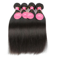 100% Real Human Hair Remy Hair Bundles Straight Hair Extensions Women Hairpieces