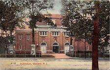 1910 Auditorium Vineland NJ post card