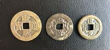 Lot Of Three Ancient Imperial Chinese Copper/Bronze Coins